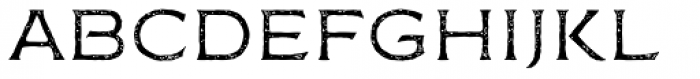 FM Bolyar Rust One NPro 100 Font LOWERCASE