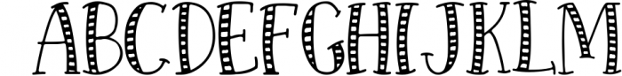 Forest Creatures Font Trio Font LOWERCASE