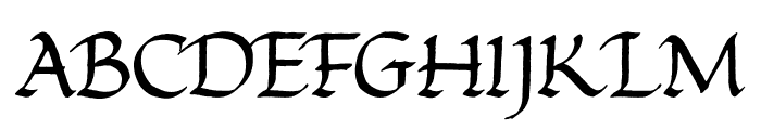 Foundational Font UPPERCASE