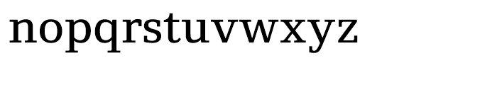 Foundry Origin Medium Font LOWERCASE