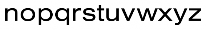 Foundation Sans Extended Font LOWERCASE
