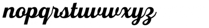 Fourth Bold Font LOWERCASE