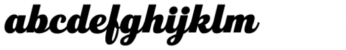 Fourth Ultra Font LOWERCASE