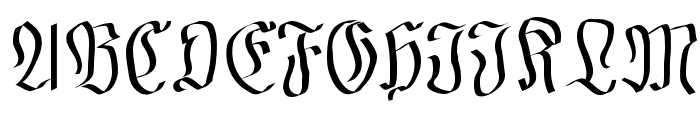 FraxMouseSketches Font UPPERCASE