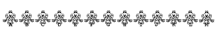 Frogii's Froggy Font LOWERCASE