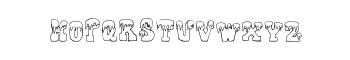 FrostyHoliday Font LOWERCASE