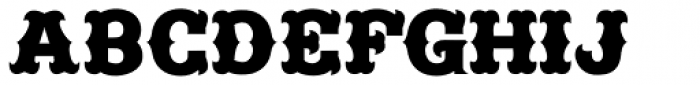 Freibeuter NR Smooth Font UPPERCASE