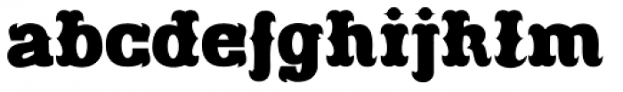 Freibeuter NR Smooth Font LOWERCASE