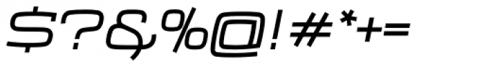 Frio Extended Italic Font OTHER CHARS