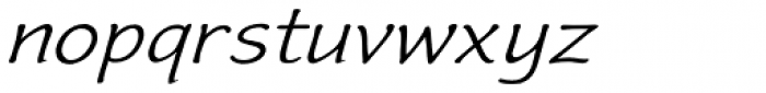 Frogster Expand Oblique Font LOWERCASE
