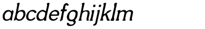 Frompac Italic Font LOWERCASE