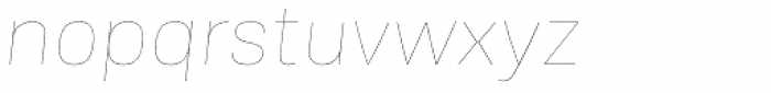 Frygia Hairline Italic Font LOWERCASE