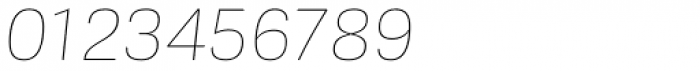 Frygia Thin Italic Font OTHER CHARS