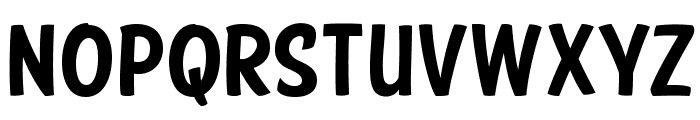 FTY SPEEDY CASUAL NCV Font LOWERCASE