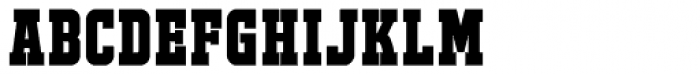 FTY JACKPORT COLLEGE A Bold Font UPPERCASE