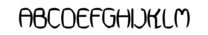 Futurex Punched Font UPPERCASE