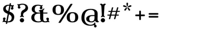 Furius Regular Font OTHER CHARS