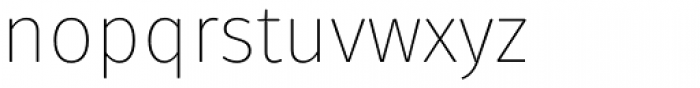 Fuse V.2 Display Ultra Light Font LOWERCASE