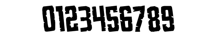 G.I. Incognito Rotated Regular Font OTHER CHARS