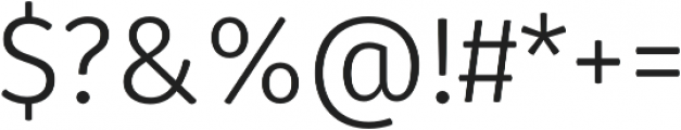 Gardenia Book otf (400) Font OTHER CHARS