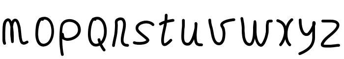 GAELLEnumber8 Font LOWERCASE