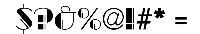 Gaslight Regular Font OTHER CHARS