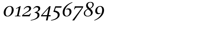 Gauthier Next FY Medium Italic Font OTHER CHARS