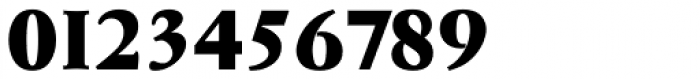 Garamond Serial Heavy Font OTHER CHARS