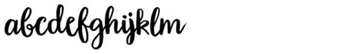 Garden Grown Font LOWERCASE
