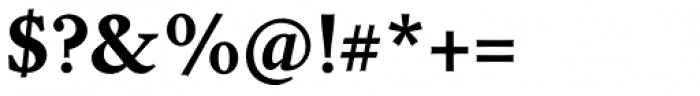 Garvis Pro Bold Font OTHER CHARS