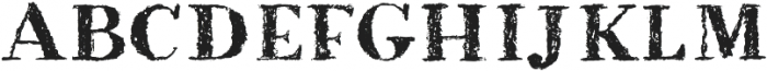 Gessetto Roman otf (400) Font UPPERCASE