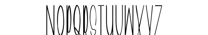 Geeves Font LOWERCASE