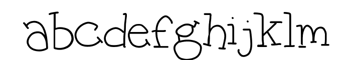 George Light Font LOWERCASE