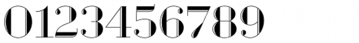 Geotica Two Engraved Font OTHER CHARS