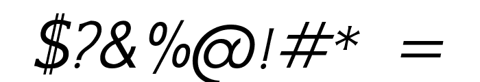 GFS Neohellenic Italic Font OTHER CHARS