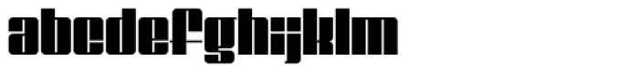 Gf Special 150 Font LOWERCASE