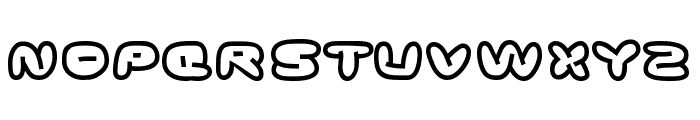 Ghostmeat Font UPPERCASE