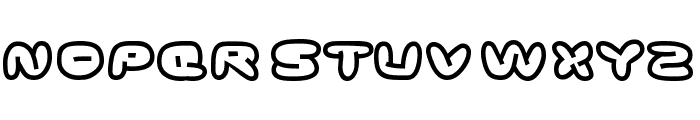 Ghostmeat Font LOWERCASE