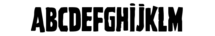 Ghoulish Intent Font UPPERCASE