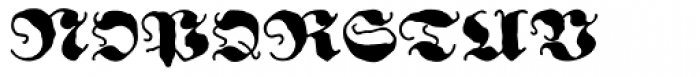 Ghost Gothic Font UPPERCASE
