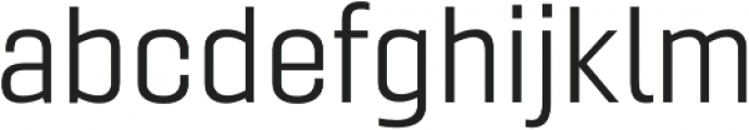 Gineso Ext Book otf (400) Font LOWERCASE