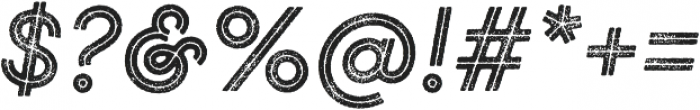 Gist Rough Bold otf (700) Font OTHER CHARS