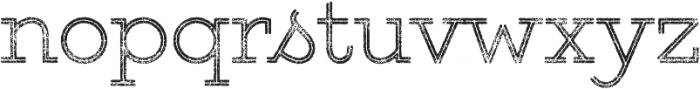 Gist Rough Upright Light Two otf (300) Font LOWERCASE