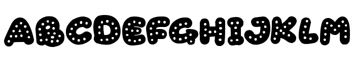 Gingerbread Font LOWERCASE