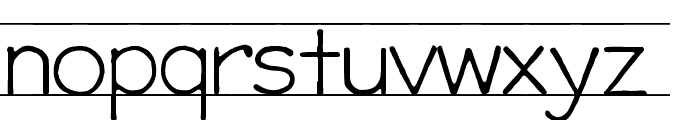 gifford [eval] Font LOWERCASE