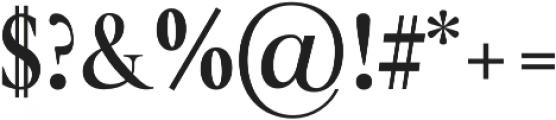 glamour luxury otf (700) Font OTHER CHARS