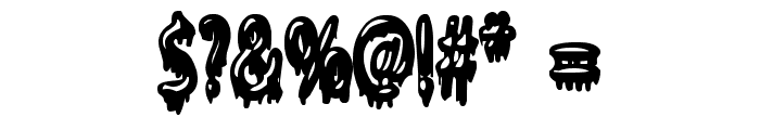 Gloop Font OTHER CHARS