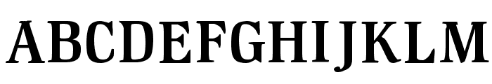 GM Hightop Demoversion Font UPPERCASE