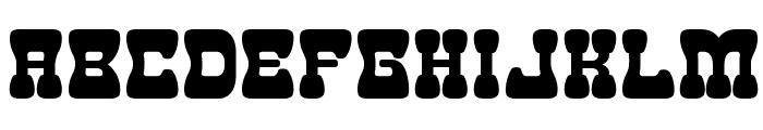 Goma Western 2 Font UPPERCASE