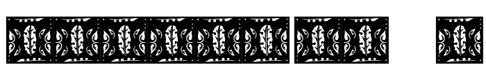 Gothic-Leaf Font OTHER CHARS